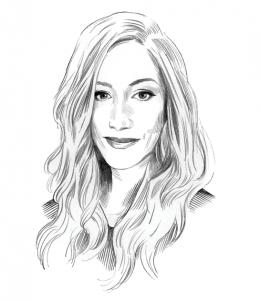 Illustration of April Weir