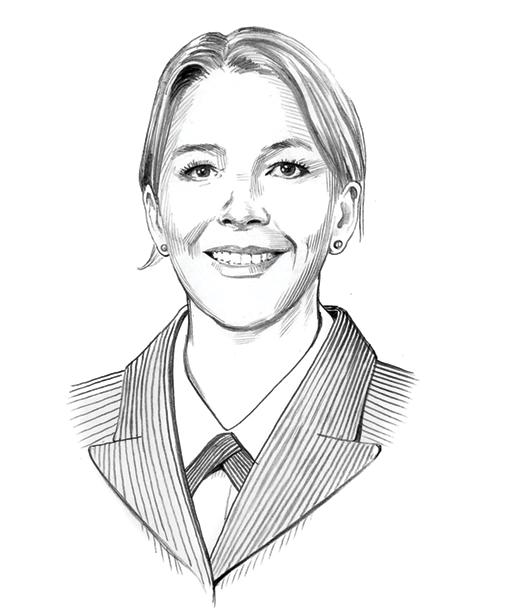 Illustration of Hannah Kirking