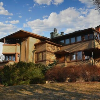 "Frank Lloyd Wright ""Airplane"" house"