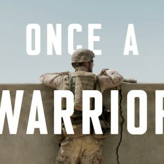 "Book cover of ""Once a Warrior"""