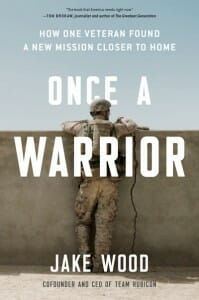 """Book cover of """"Once a Warrior"""""""