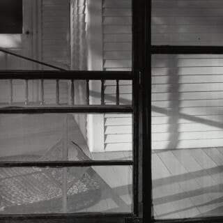 "photograph by John Svarkowski, ""Screen Door"""