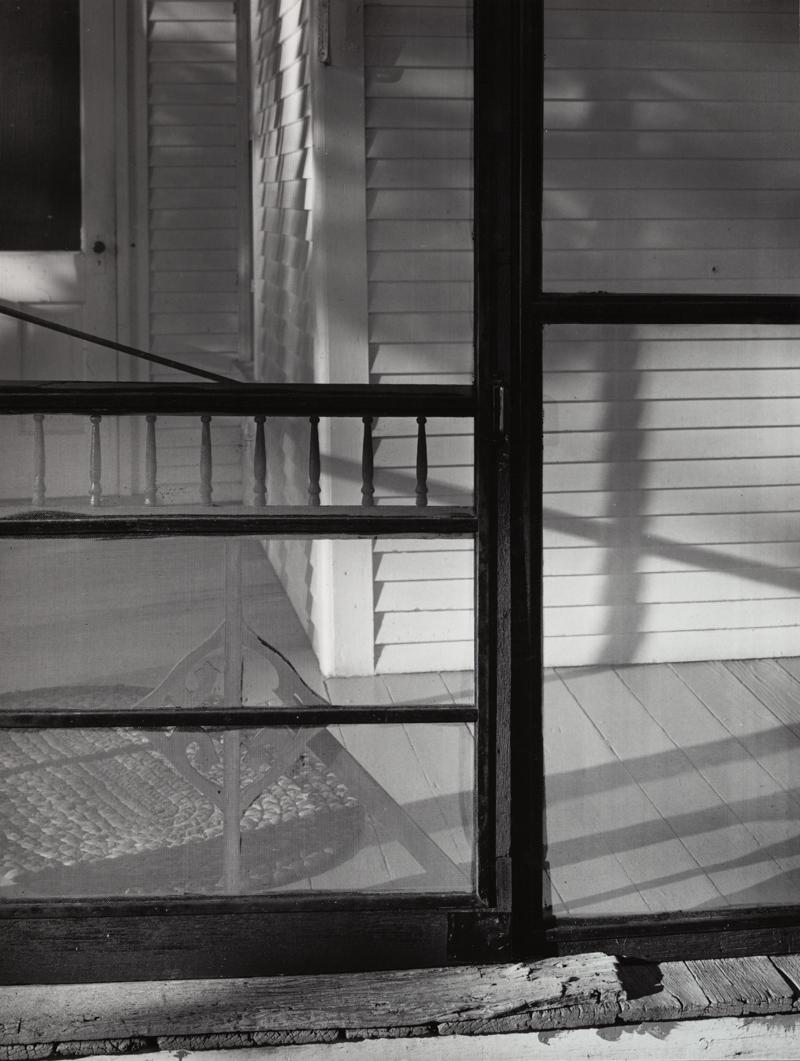 "photograph by John Szarkowski, ""Screen Door"""