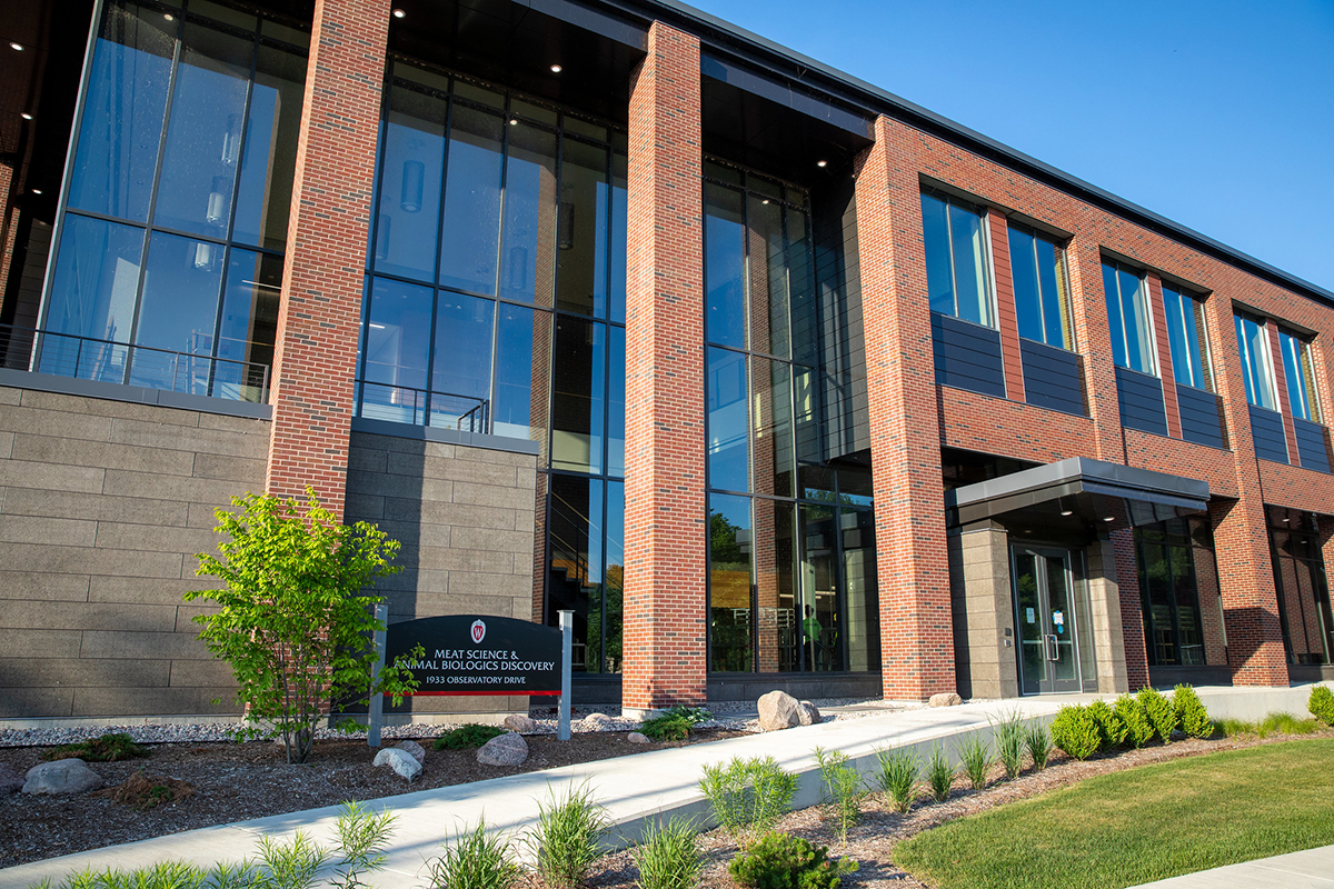 Meat Science and Animal Biologics Discovery Building at UW–Madison