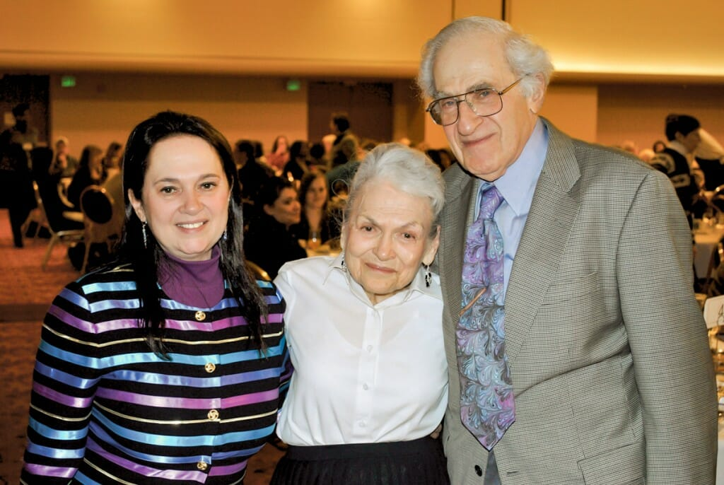 Emily Auerbach and her parents, Bob and Wanda