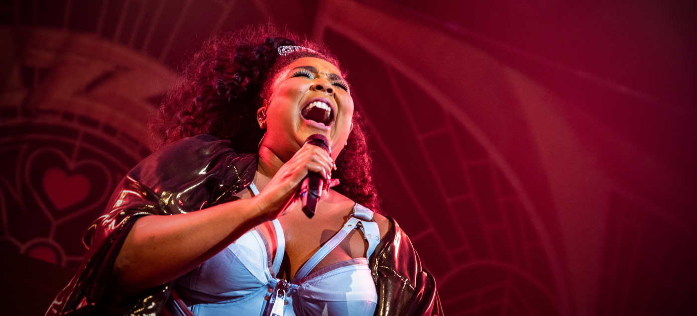 Lizzo performs at the Sylvie in 2019