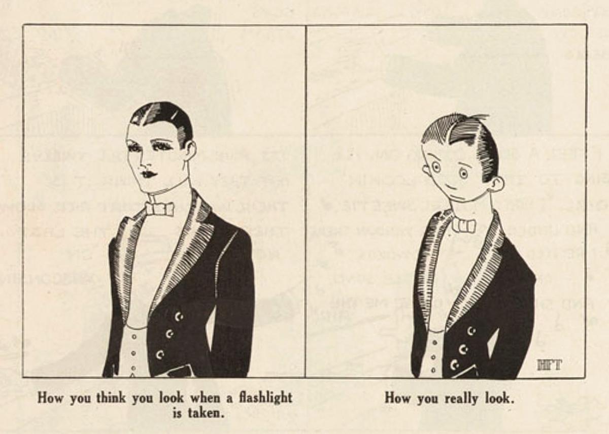 Early 20th century cartoon