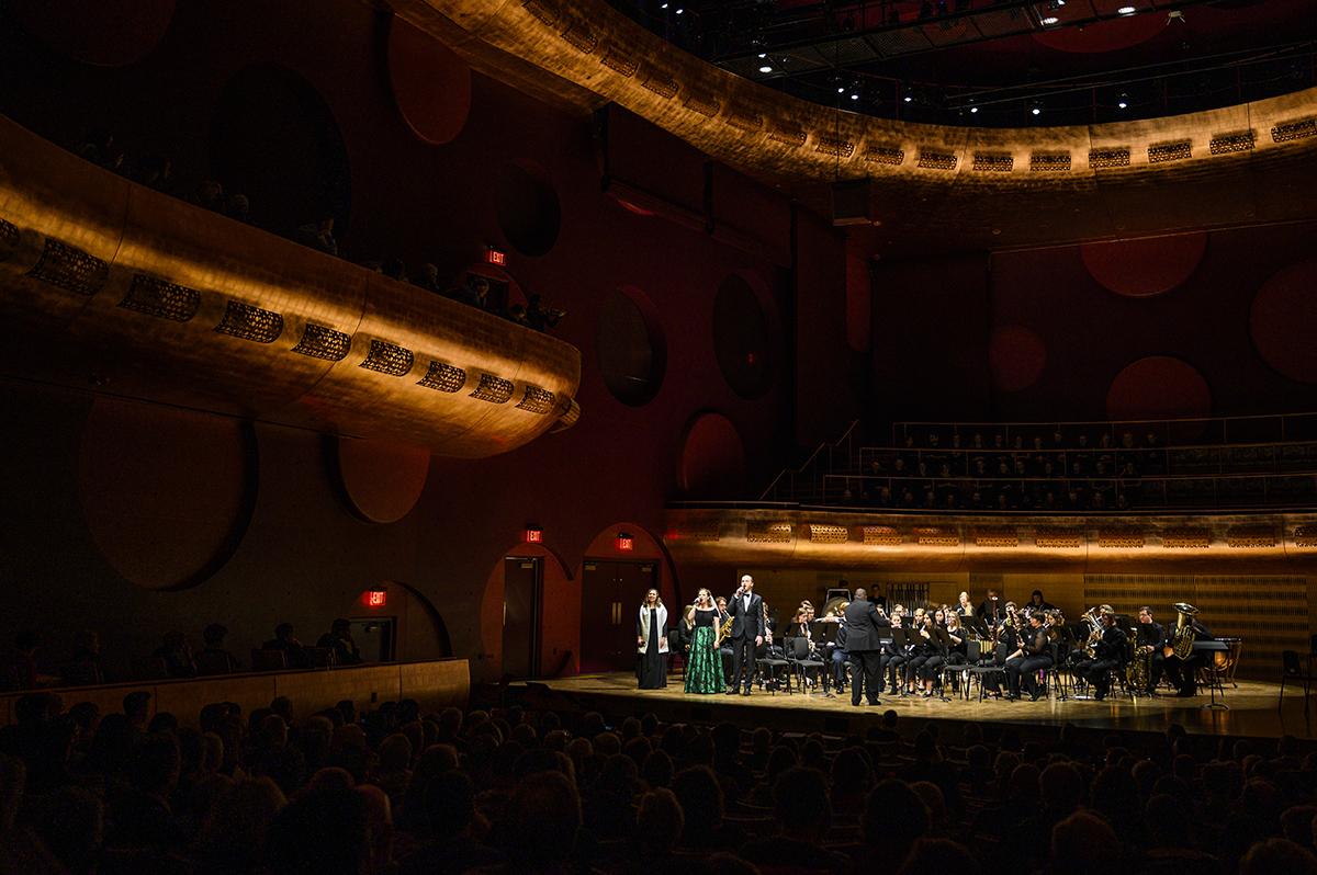 Concert in Hamel Music Center Auditorium