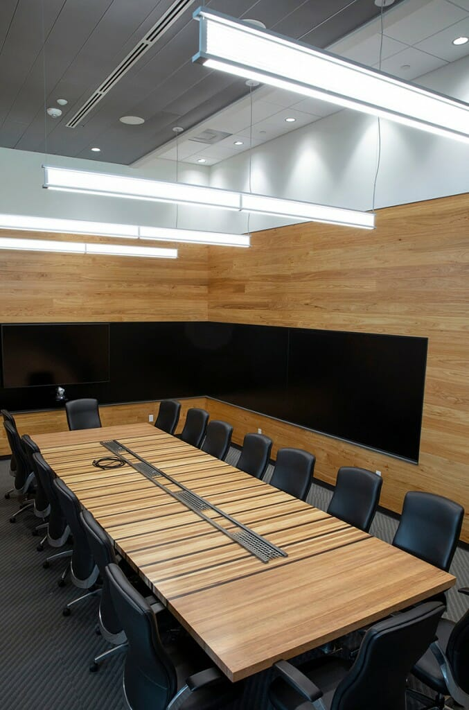 Classroom in new Meat Science building